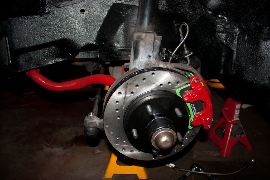 CC image IROC Brake Upgrade by Nick Ares on Flickr