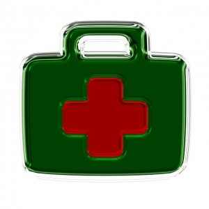 CC image Icon Drawing Cartoon First Aid Kit Emergency by geralt on Pixabay